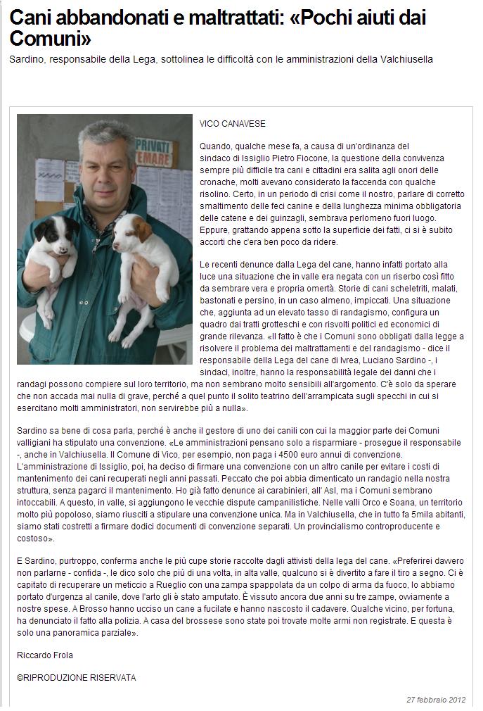 sentinella 2012.2.27